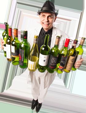 Roegr Magicien des bouteilles